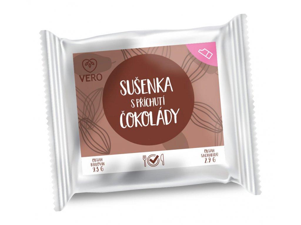 Sušenka s příchutí čokolády (25g)