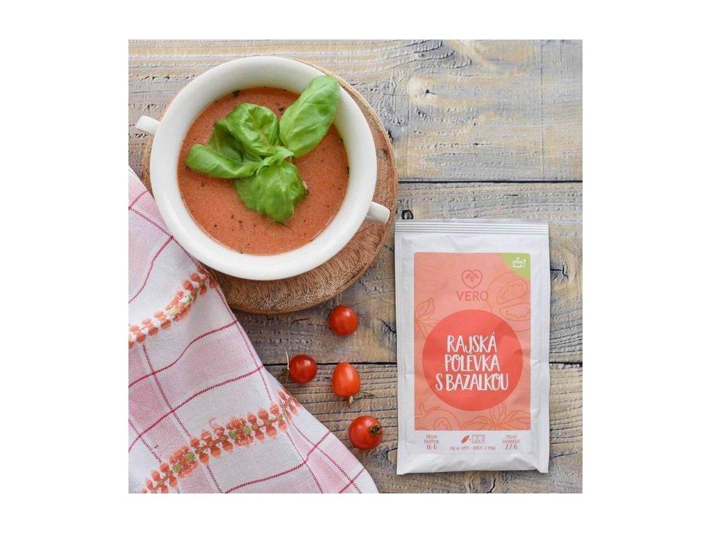 Rajská polévka s bazalkou (23,5g)