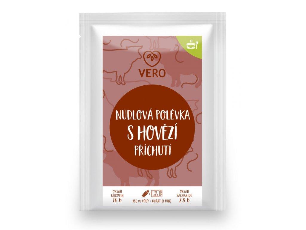 Nudlová polévka s hovězí příchutí (23,5g)