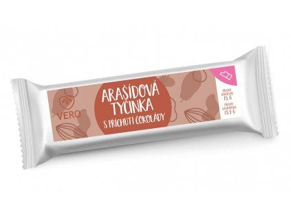 Arašídová tyčinka s příchutí čokolády (42g)