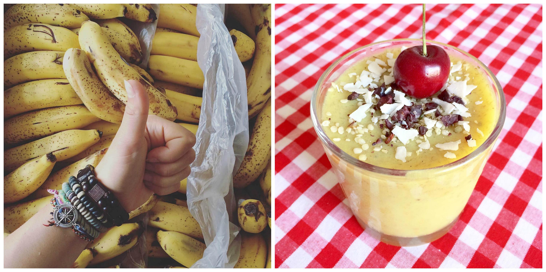 Když si koupíte bednu banánů