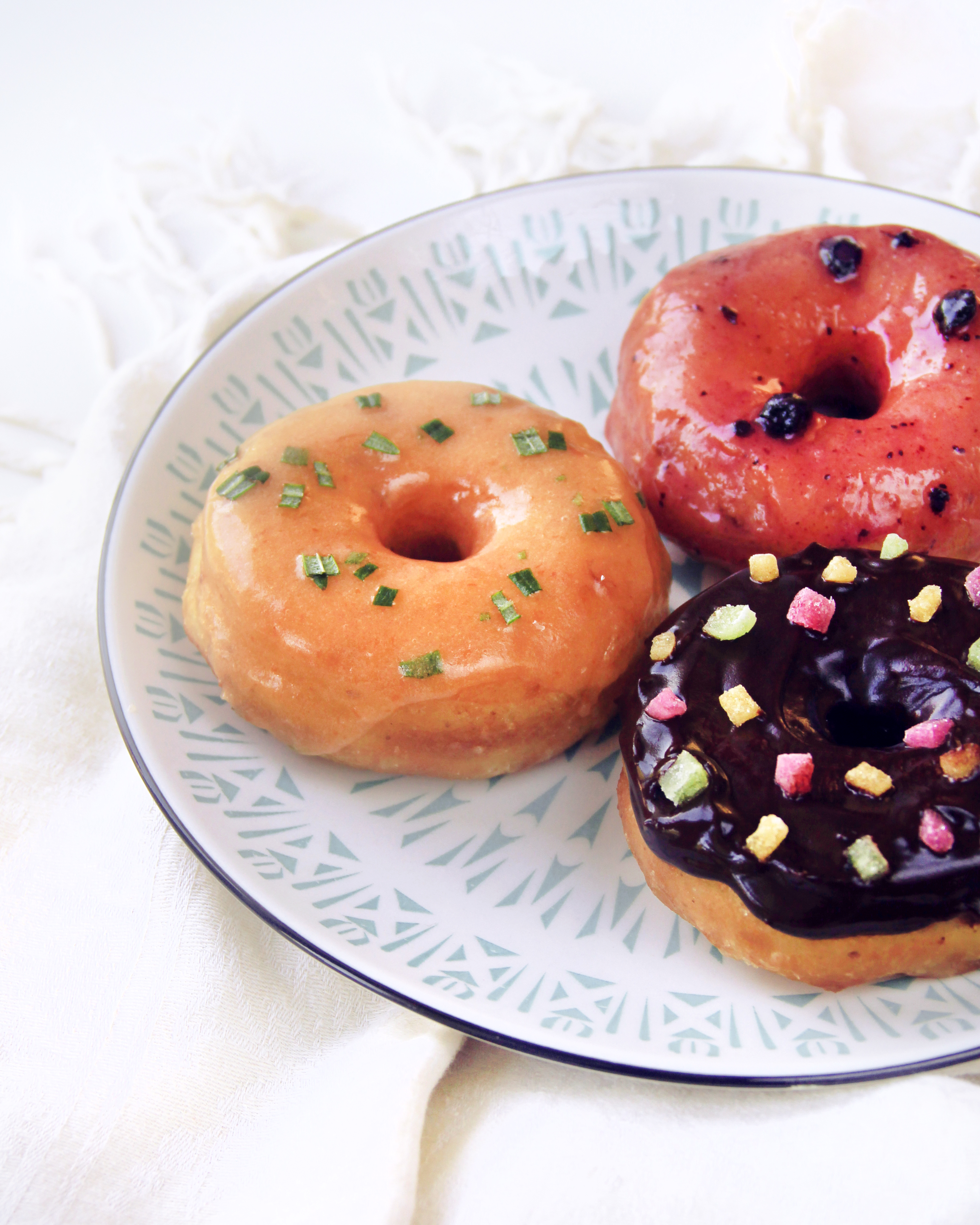 Veganský donutky