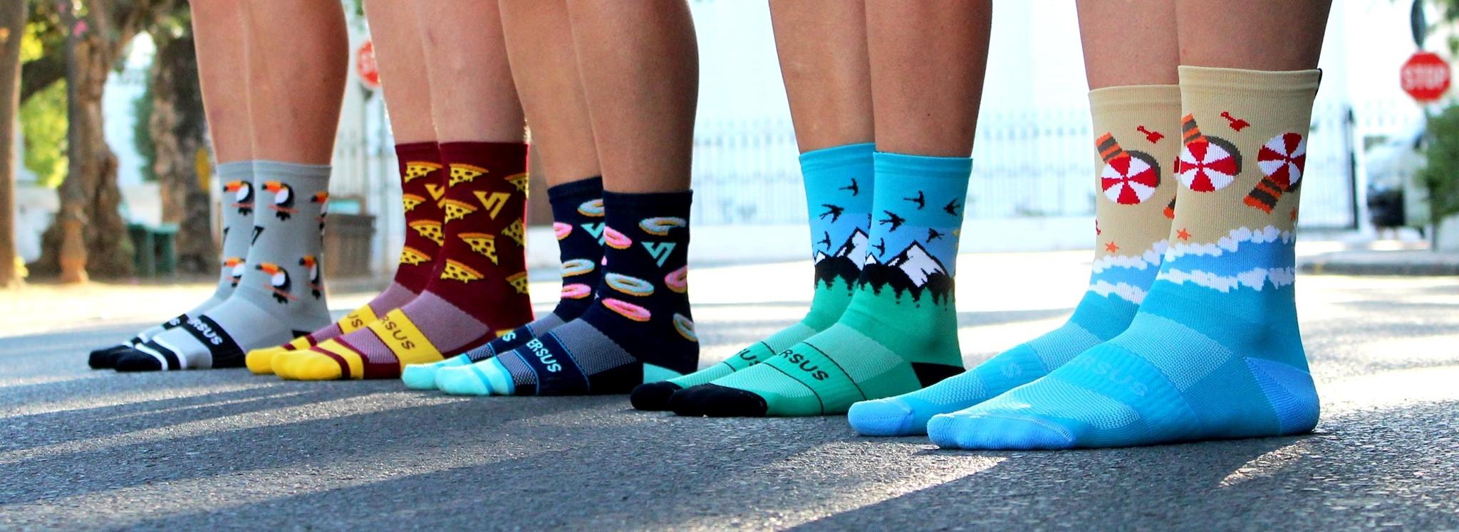 sportovníponožky versus socks 2