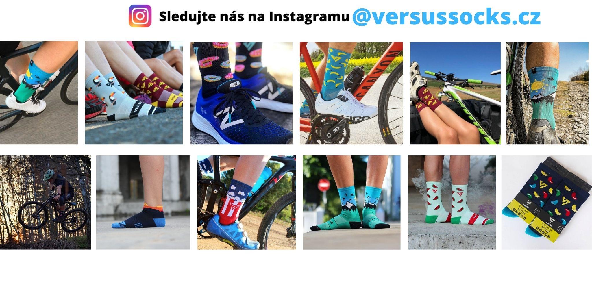 Sledujte nás na instagramu versussocks.cz