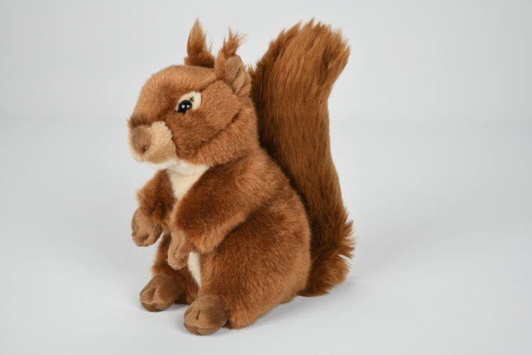 Plyšová veverička