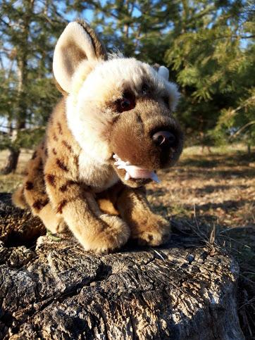 Plyšová hyena