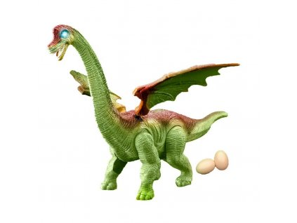 Dinosaurus chodiaci a kladúci vajíčko