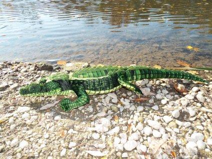 Plyšový krokodíl