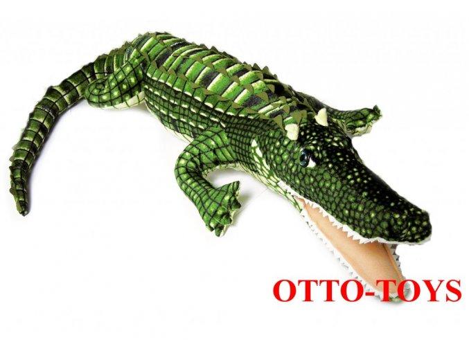 veľký plyšový krokodíl