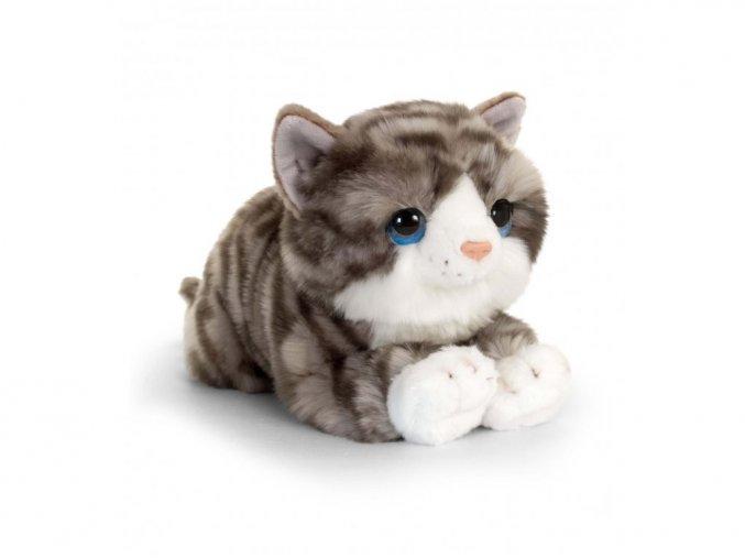Plyšová šedá mačka Jade 33cm  Tovar skladom. Odosielame ihneď.