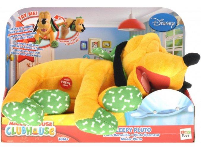 Pluto plyšový spící