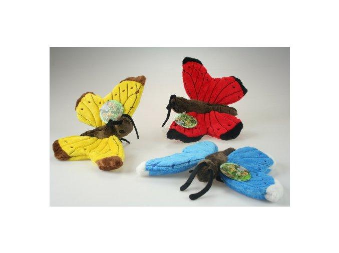 plyšový motýľ