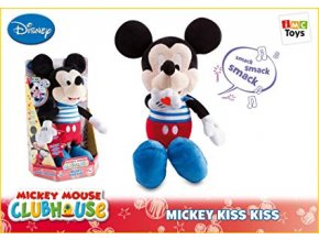 mickey mouse kiss kiss