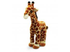 Plyšová žirafa stojaca