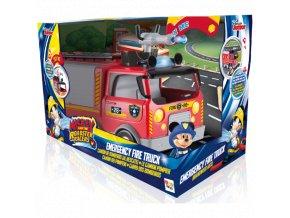 Mickey hasičské auto