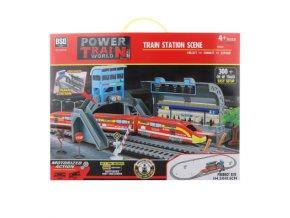 vlaková stanica hračka