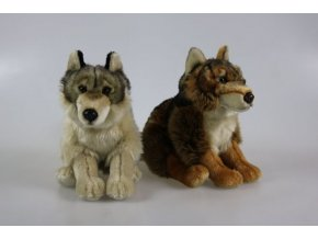 vlk plysovy
