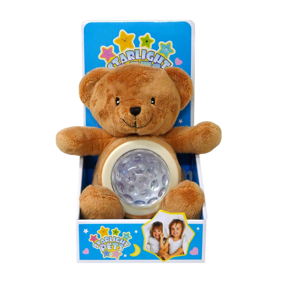 Svietiaci plyšák Druh plyšáka: Medvedík