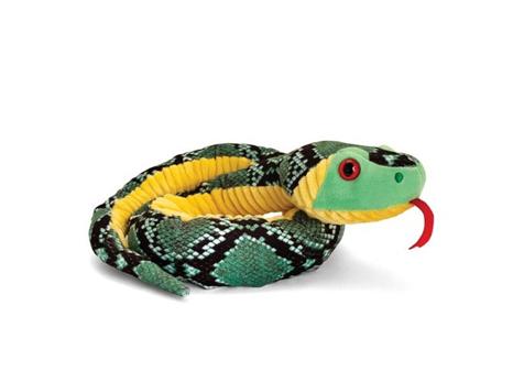 Plyšový had Farba: Zelená