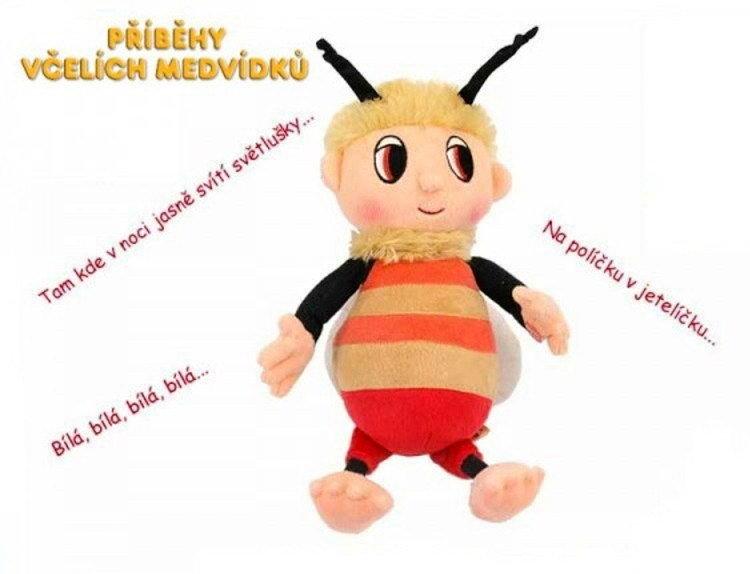 Včelí medvedík Brumda a Čmelda Druh plyšáka: Čmelda