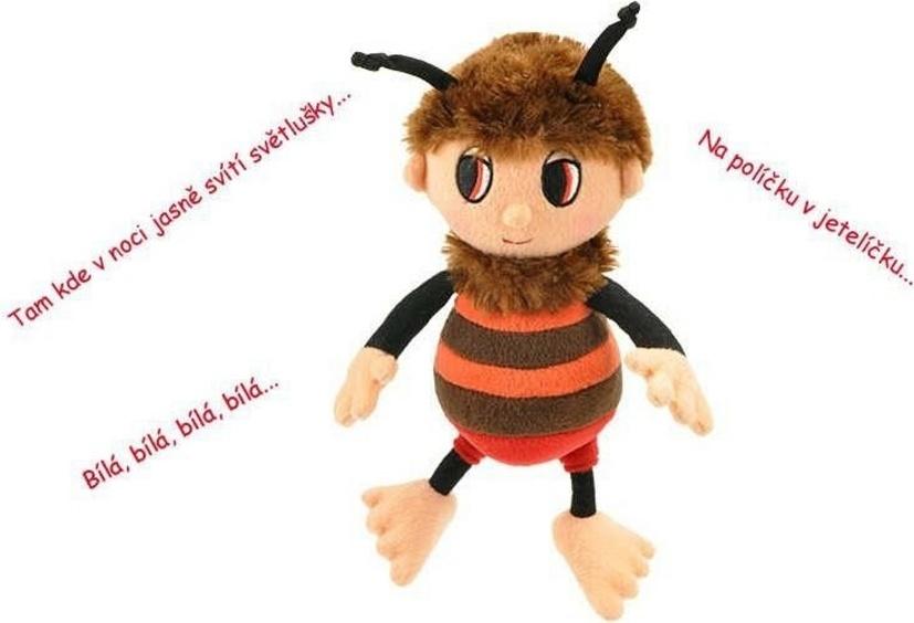 Včelí medvedík Brumda a Čmelda Druh plyšáka: Brumda