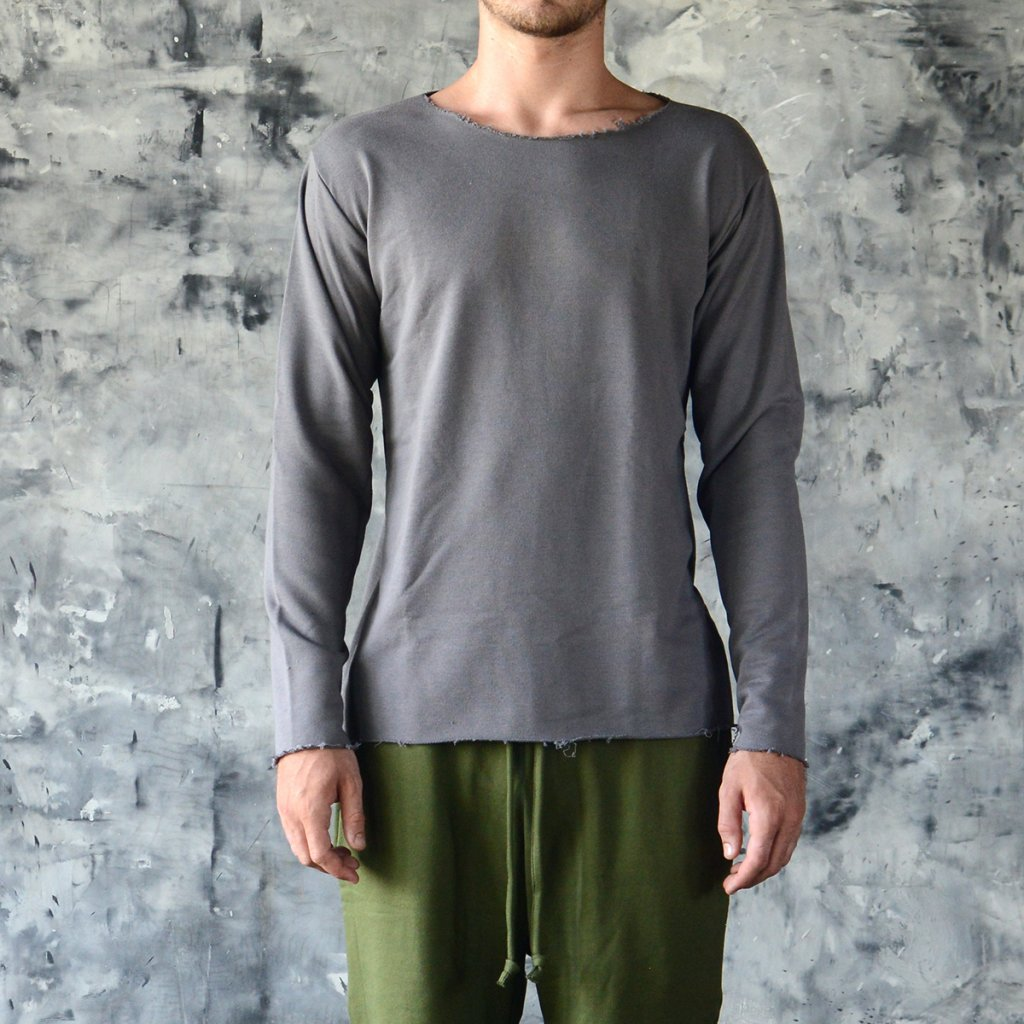 LONG SLEEVE T-SHIRT - COTTON (Size XXL, Colour Green)