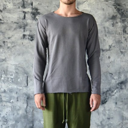 LONG SLEEVE T-SHIRT - COTTON (Size XXL, Colour Green)