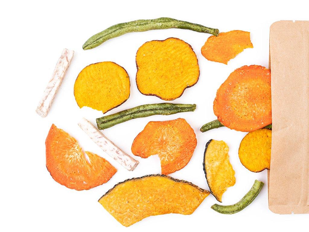 Zeleninové chipsy  1KG