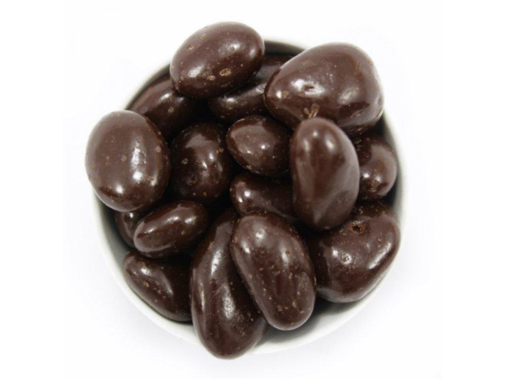 Kávová zrna v hořké čokoládě 300G