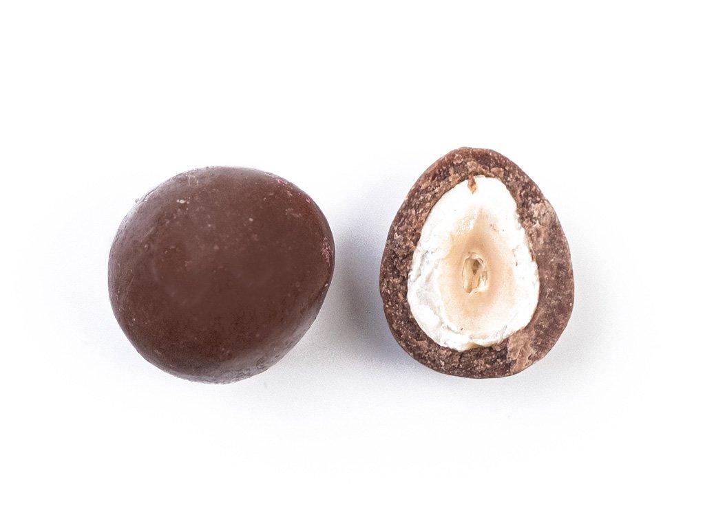 Lískové oříšky v mléčné čokoládě 1KG