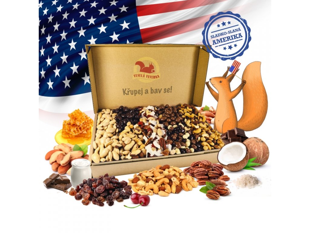 Americký box 1,4KG