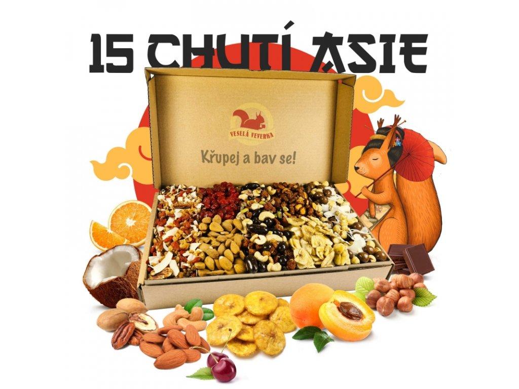Asijský box 1,2KG