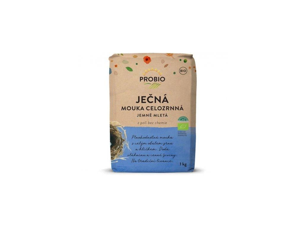 Mouka ječná celozrnná jemně mletá Probio 1kg