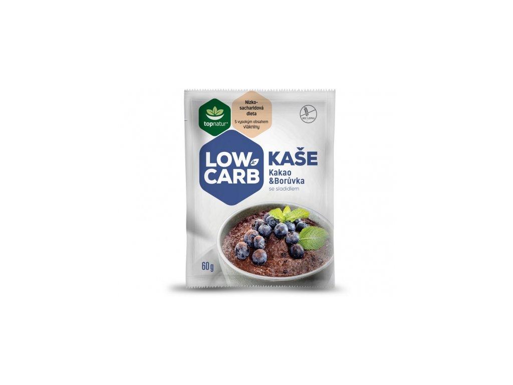 Low carb kaše Kakao a borůvka Topnatur 60g