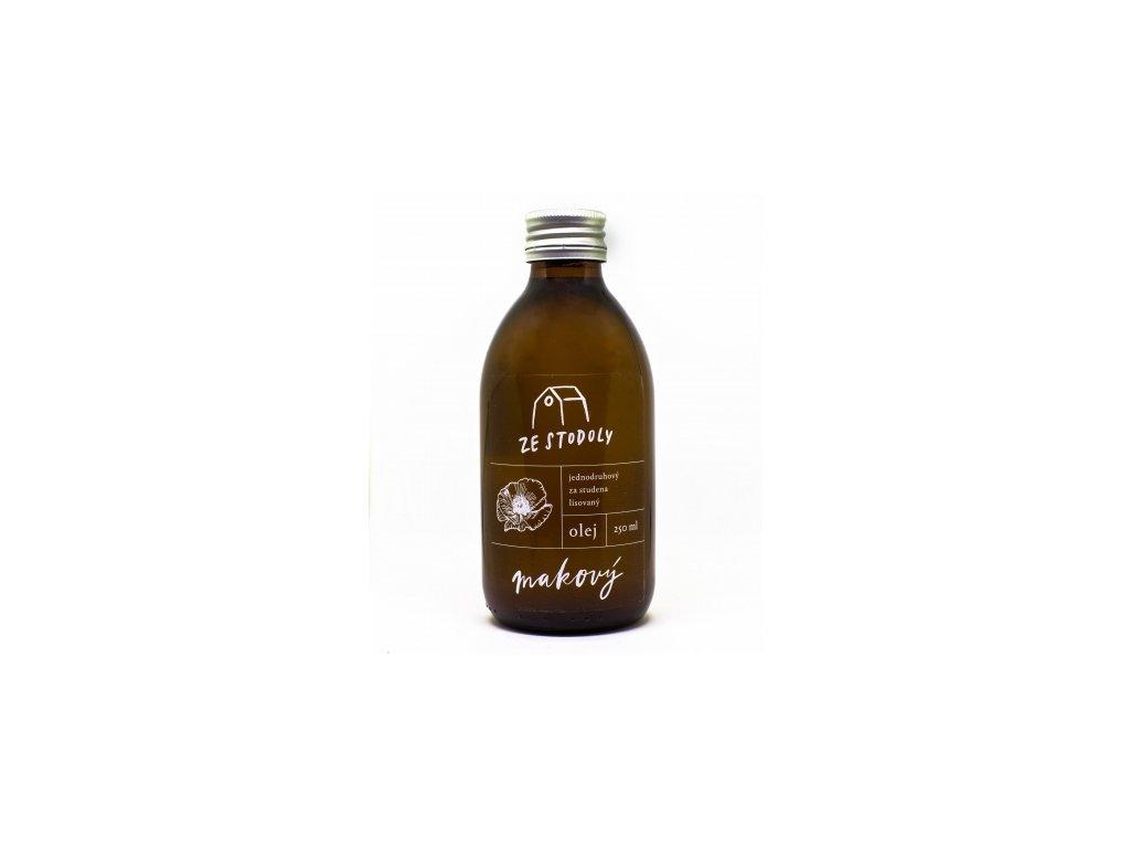 Makový olej Ze Stodoly 250ml za studena lisovaný