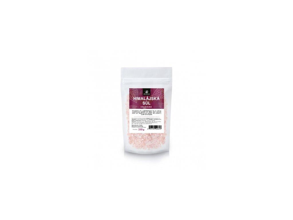 Himalajská sůl růžová hrubá Allnature 250g