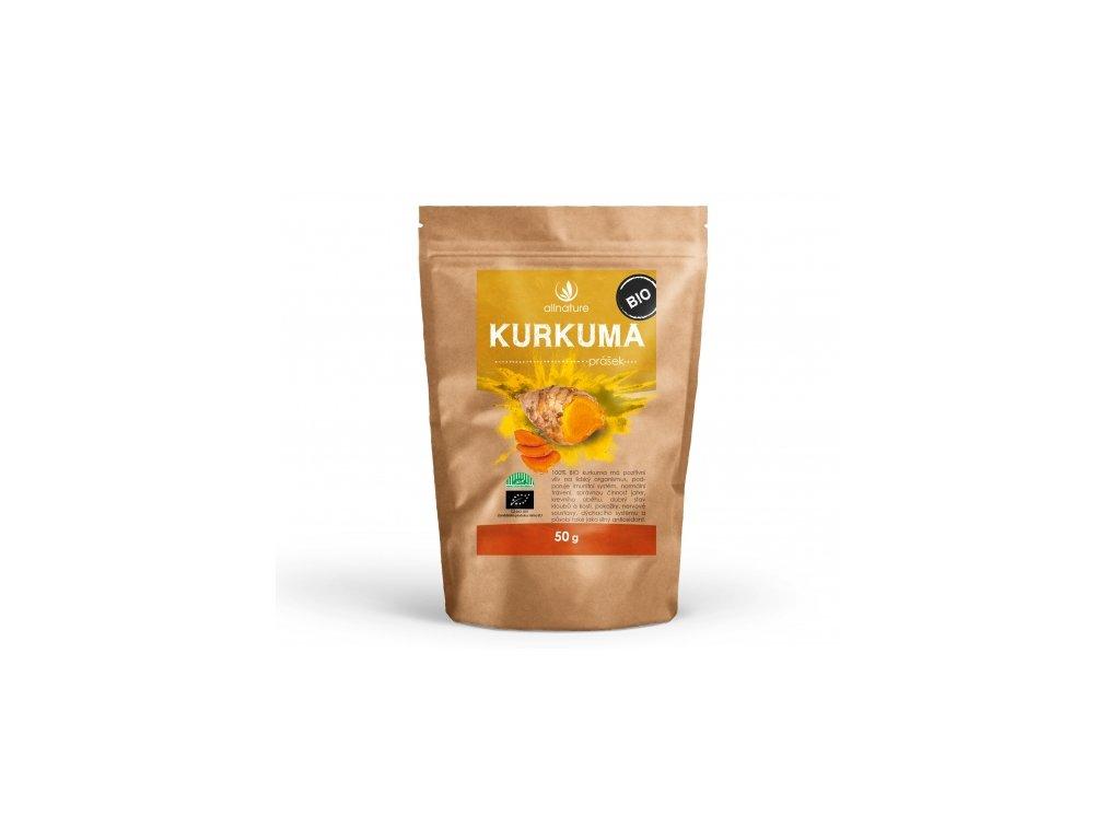 Bio Kurkuma prášek Allnature 50 g