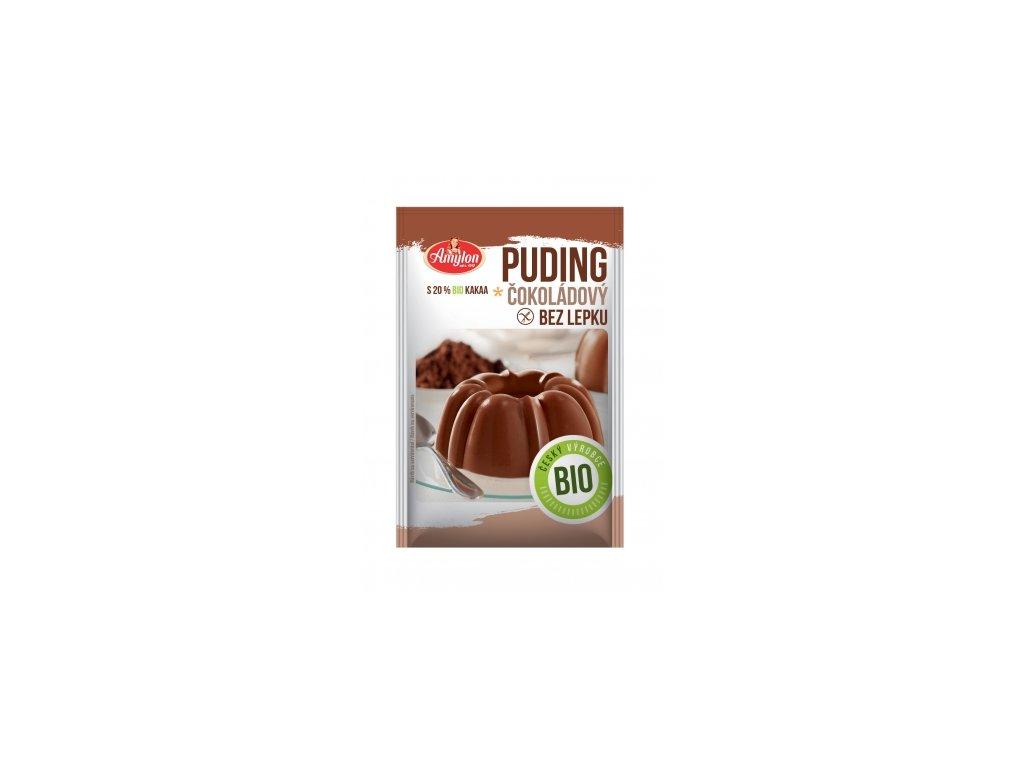 Bio Puding čokoládový Amylon 40g