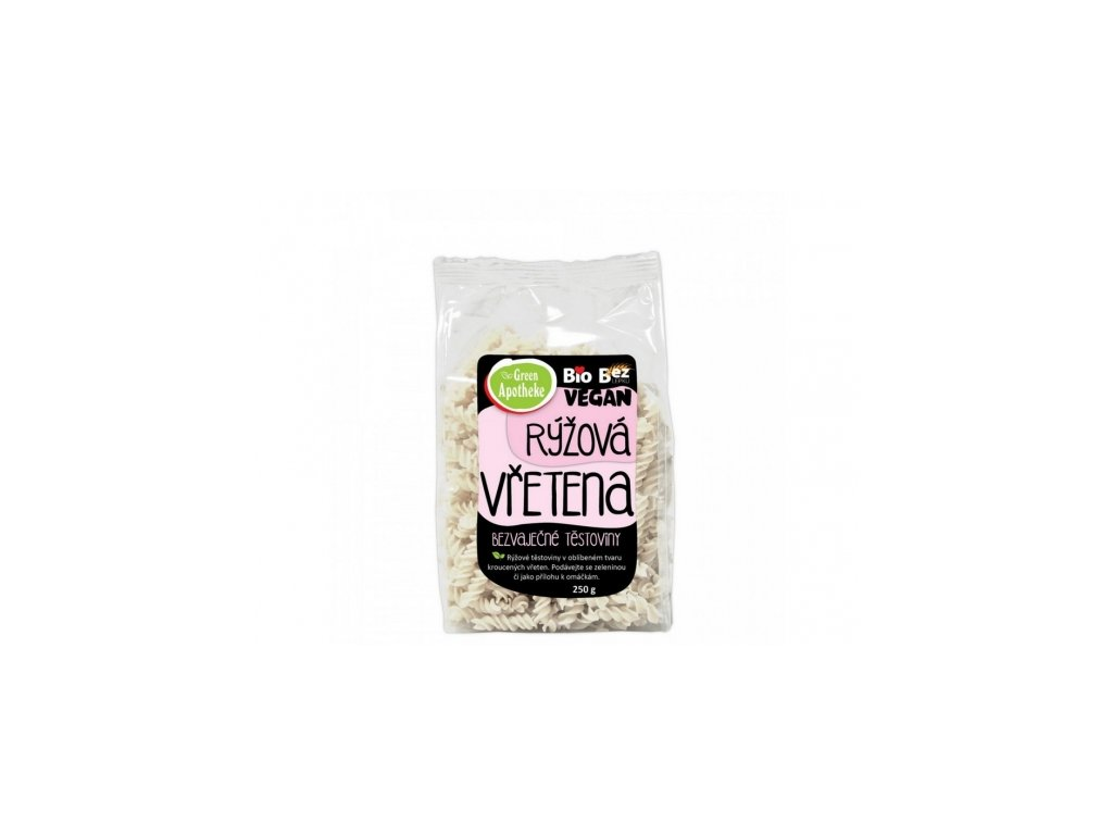 Bio Vřetena rýžová s tapiokou 250g