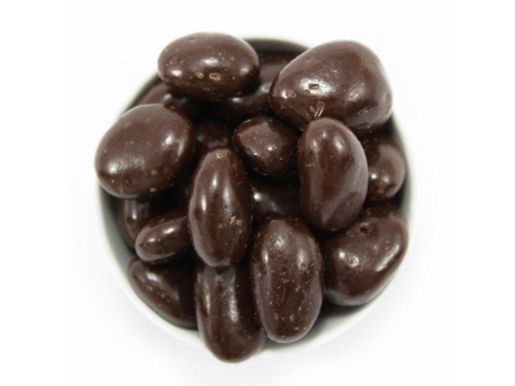 Kávová zrna v hořké čokoládě 1KG