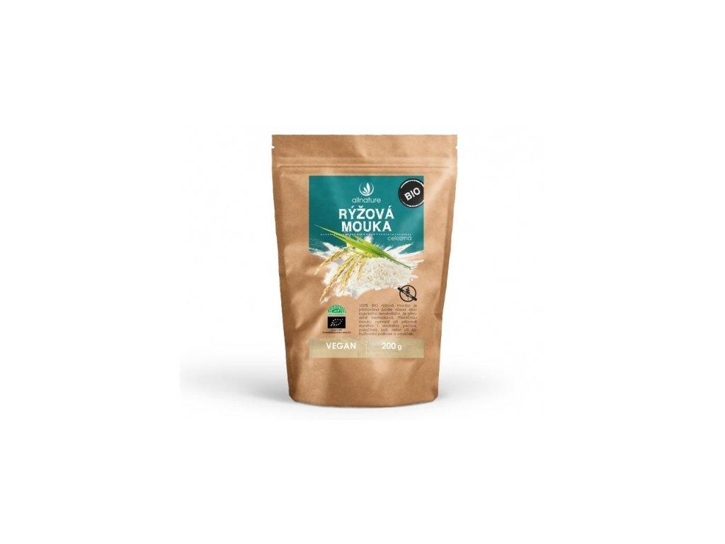 100% bio rýžová mouka celozrnná