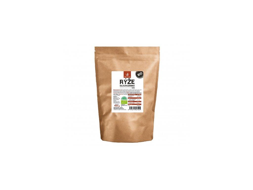 Bio Dlouhozrnná rýže bílá 400g