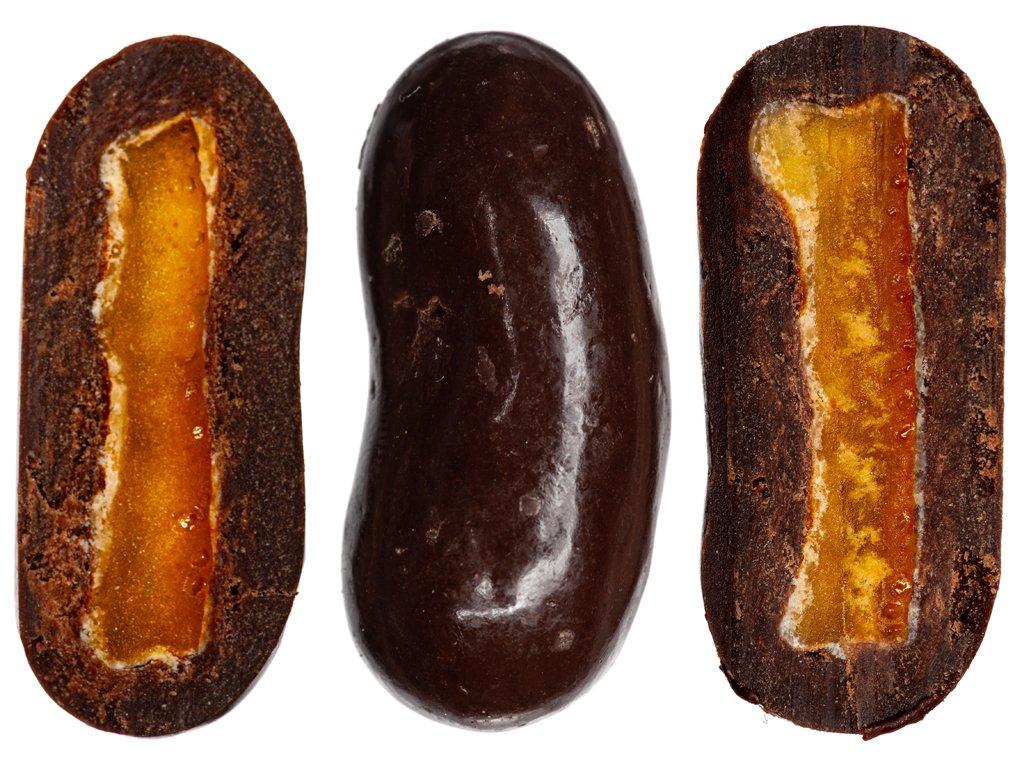 Pomerančová kůra v hořké čokoládě 300G