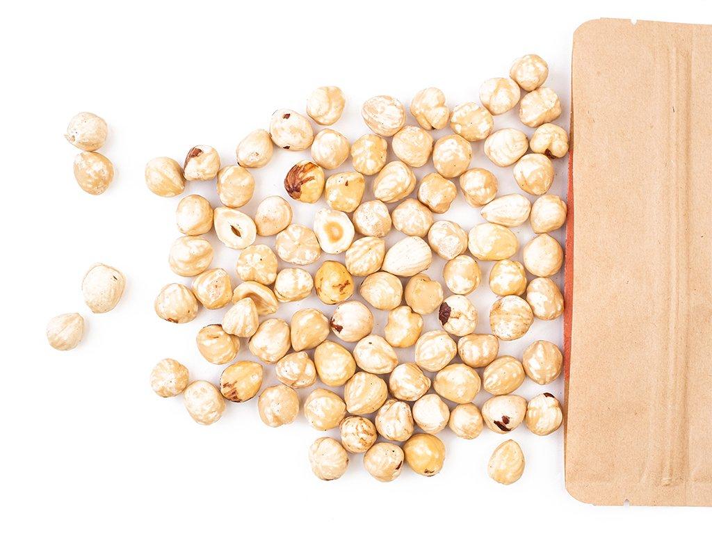 Lískové ořechy blanšírované 500G