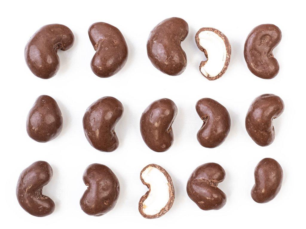Kešu ořechy v mléčné čokoládě 300G