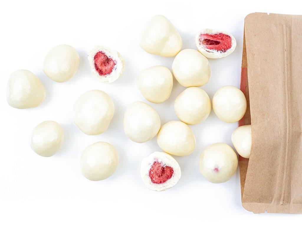 Jahody v jogurtu (sušené mrazem) 300G