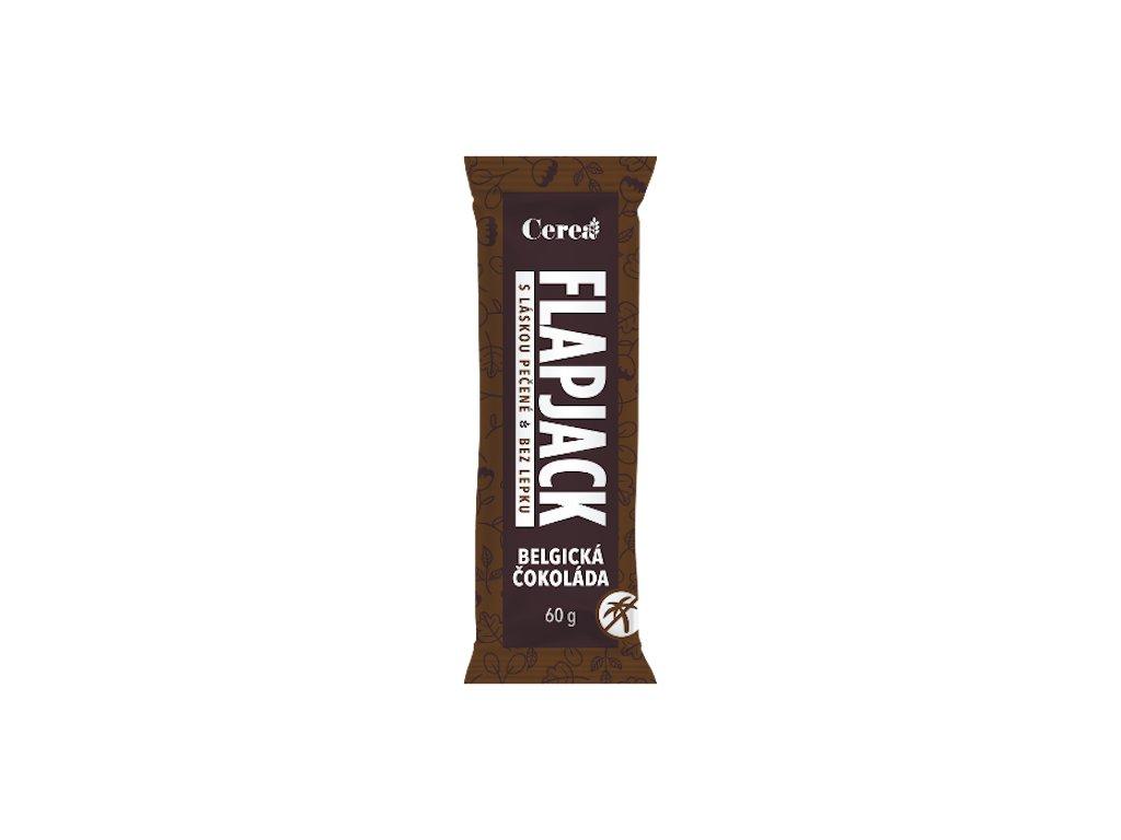 flapjack belgicka cokolada