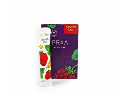Pria ovocná tyčinka - Jahoda a citrón 25x20g