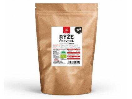 Bio Červená rýže 400g