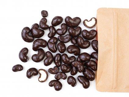 Kešu ořechy v hořké čokoládě 300G